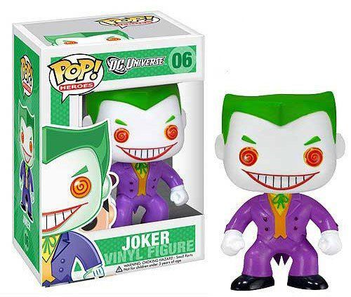 Funko Pop The Joker (Coringa): DC Universe #06 - Funko