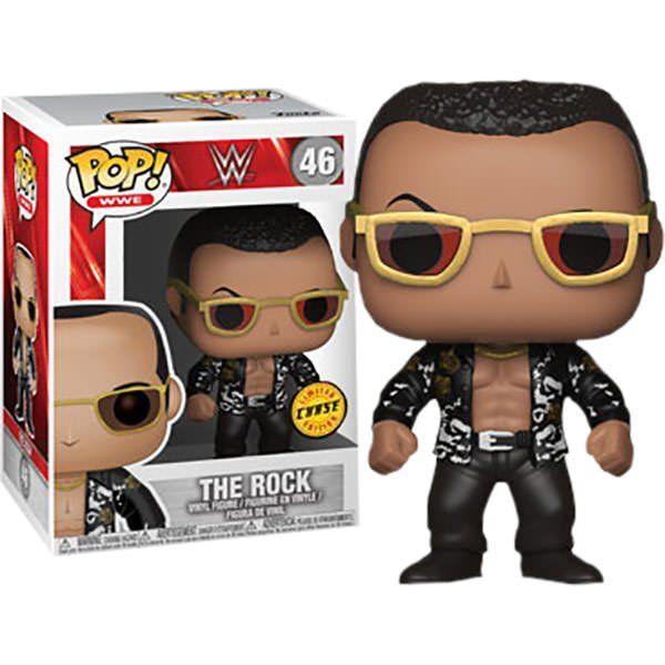 Pop The Rock (Chase): WWE #46 - Funko