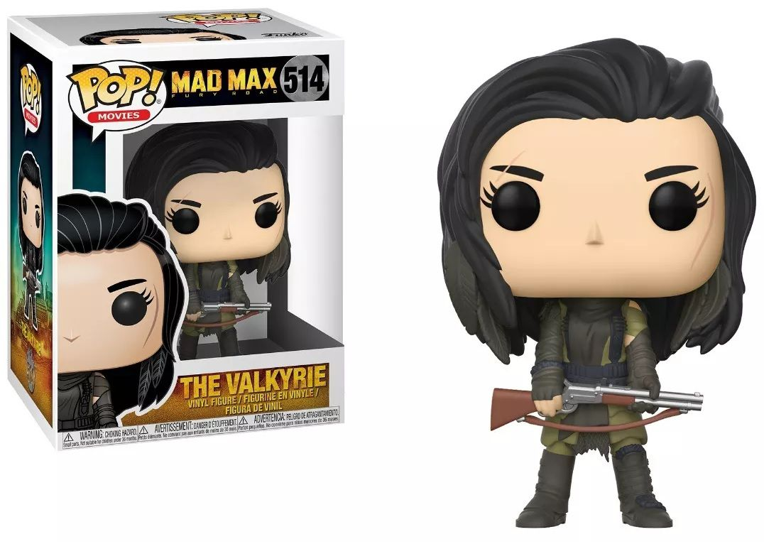 Funko Pop! The Valkyrie: Mad Max Fury Road #514 - Funko (Apenas Venda Online)