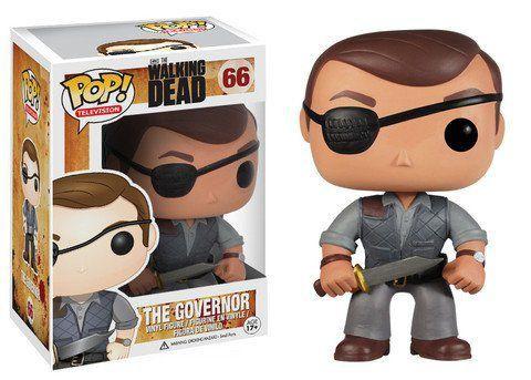 Funko Pop The Governor (O Governador): The Walking Dead #66 - Funko