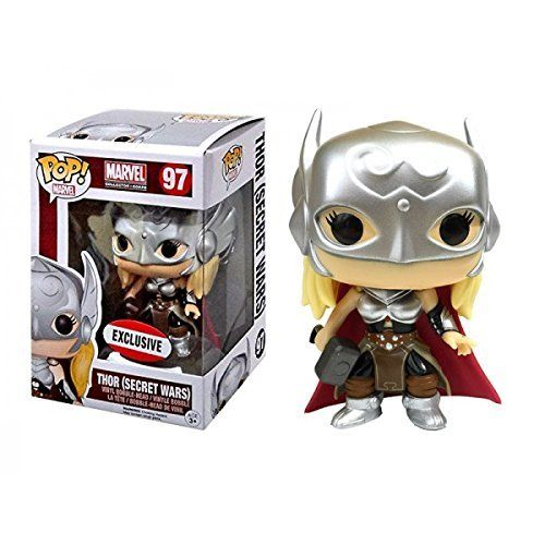 Funko Pop Thor (Exclusivo): Secret Wars #97 - Funko