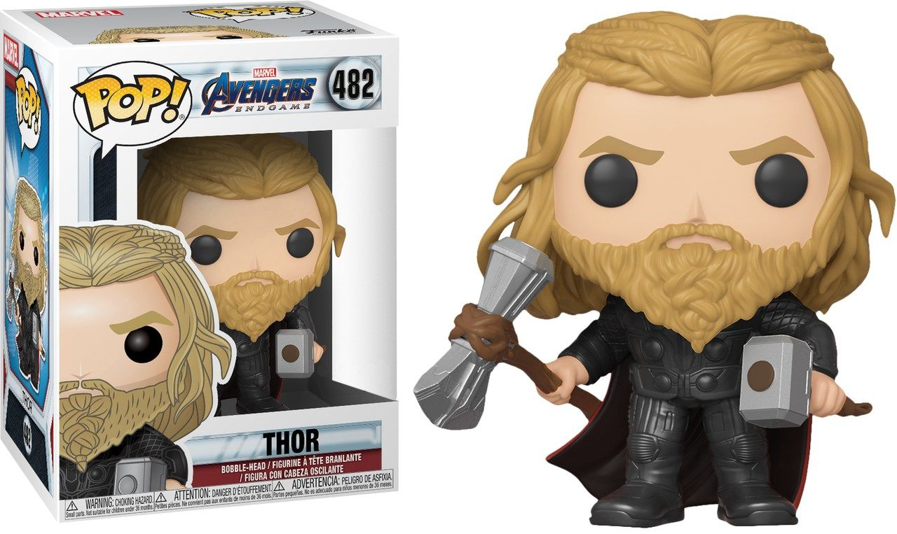 Funko Pop! Thor: Vingadores Ultimato (Avengers Endgame) Exclusivo #482 - Funko