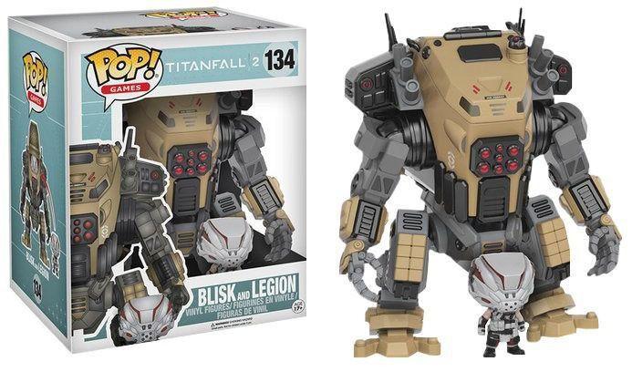 Funko Pop! Titanfall : Blisk e Legion #134 - Funko