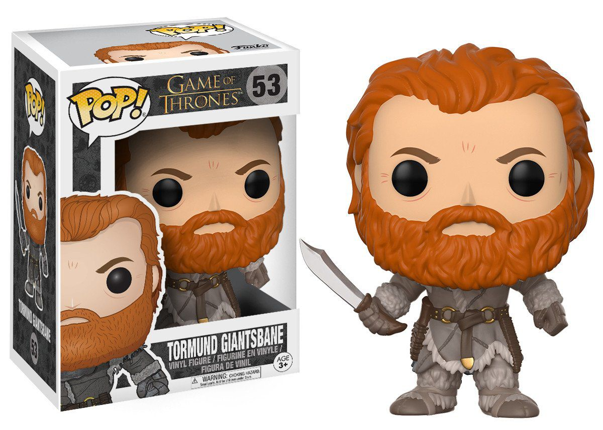 Funko Pop Tormund Giantsbane: Game Of Thrones #53 - Funko