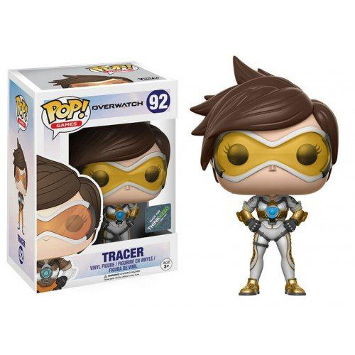 Pop Tracer Posh: Overwatch #92 (Exclusivo) - Funko