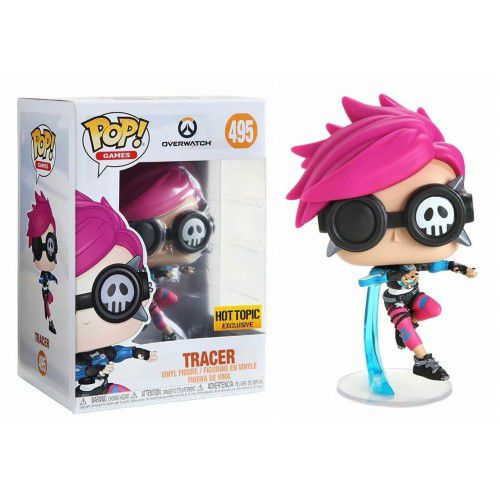 Pop! Tracer (Punk Skin): Overwatch (Exclusivo) #495 - Funko (Apenas Venda Online)