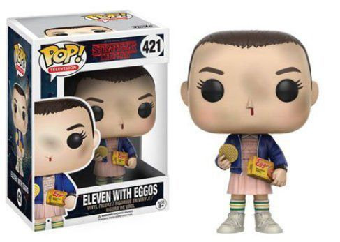 Funko Pop Eleven (With Eggos): Stranger Things #421 - Funko