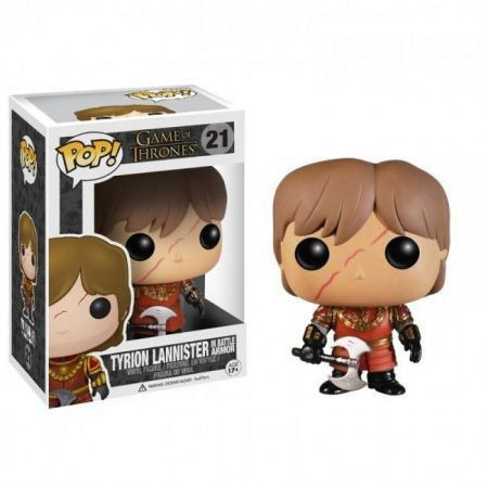 Funko Pop Tyrion Lannister in Battle Armor: Game Of Thrones #21 - Funko