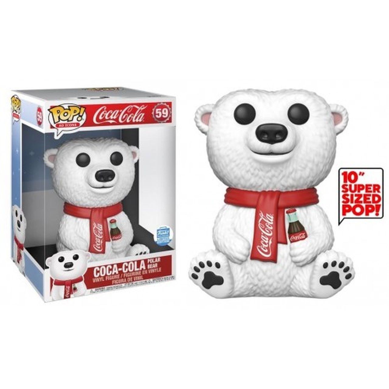 Funko Pop! Urso Polar (Bear Polar) Super Sized 10