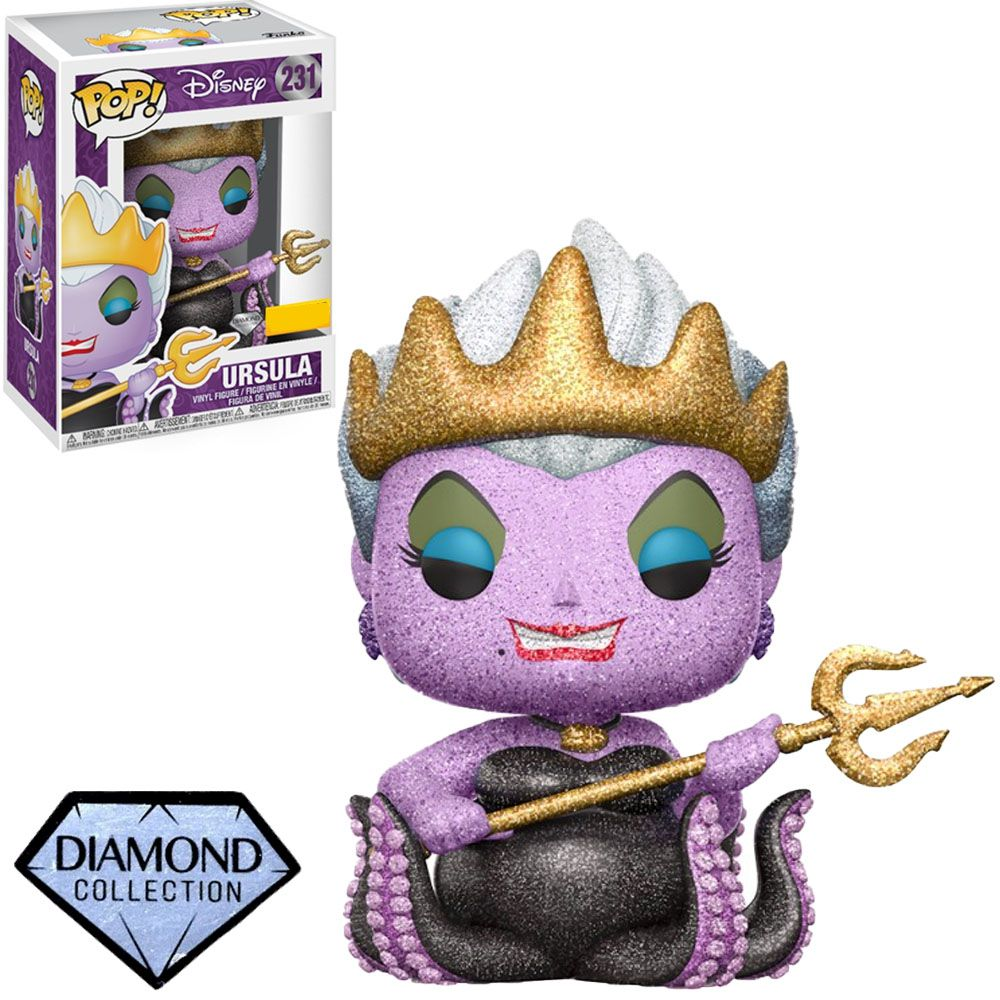 Pop Ursula com Brilho: Disney (Exclusivo) #231 - Funko