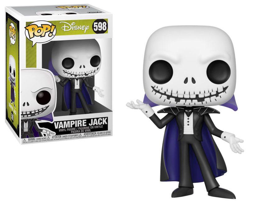 Funko Pop! Vampire Jack: O Estranho Mundo de Jack (Nightmare Before Christmas) #598 - Funko