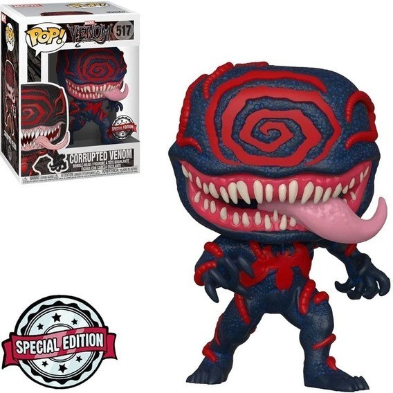 Funko Pop! Venom Corrompido: ( Corrupted Venom ):  Venom: Marvel: Edição Especial: ( Glows in The Dark ): #517 - Funko