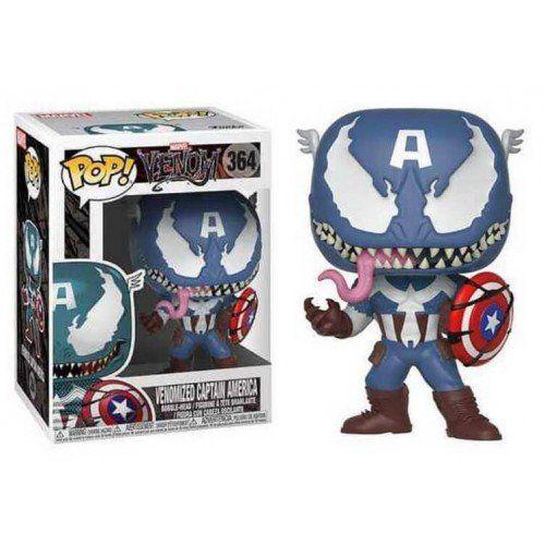 Funko Pop! Venomized Captain America: Venom (Marvel) #364 - Funko