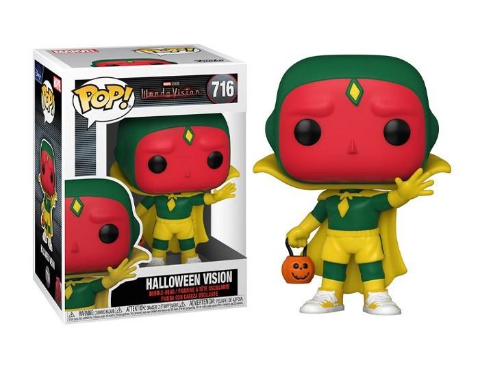Funko Pop! Visão (Halloween): WandaVision Marvel #716 - Funko