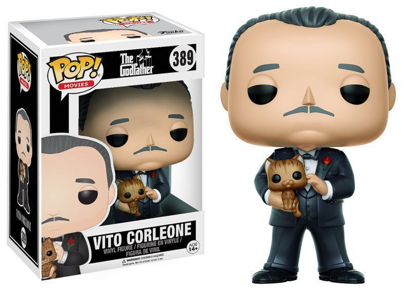 Funko Pop Vito Corleone: The Godfather (O Poderoso Chefão) #389 - Funko