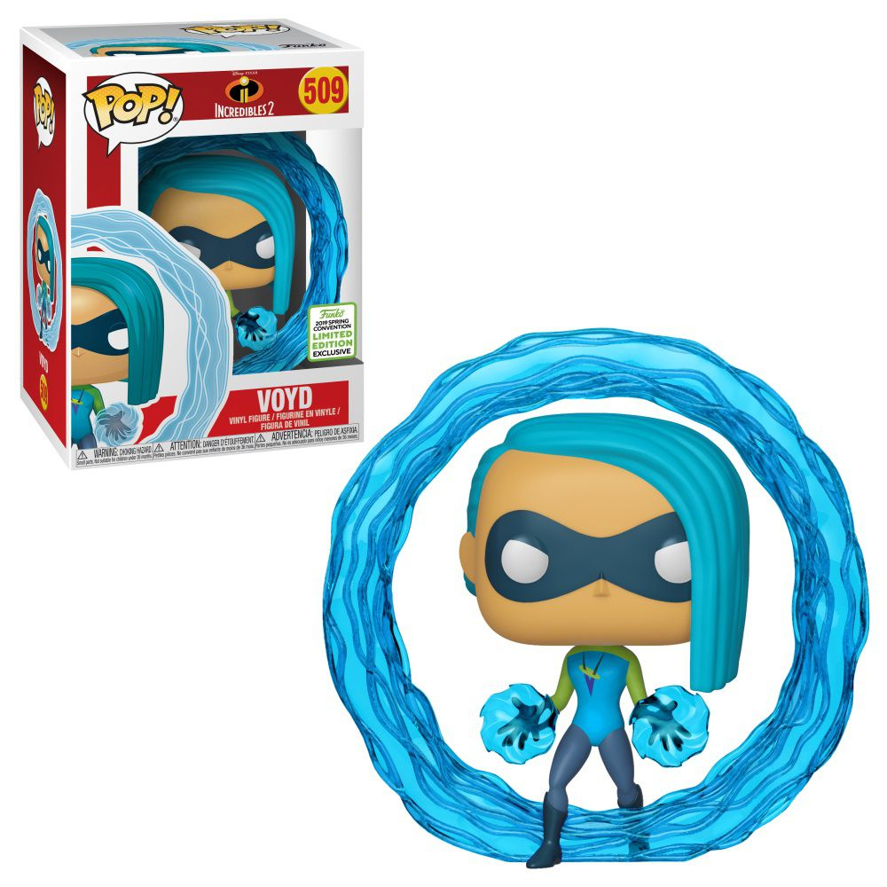 Pop! Voyd: Os Incríveis 2 (Incredibles 2) Exclusivo #509 - Funko (Apenas Venda Online)