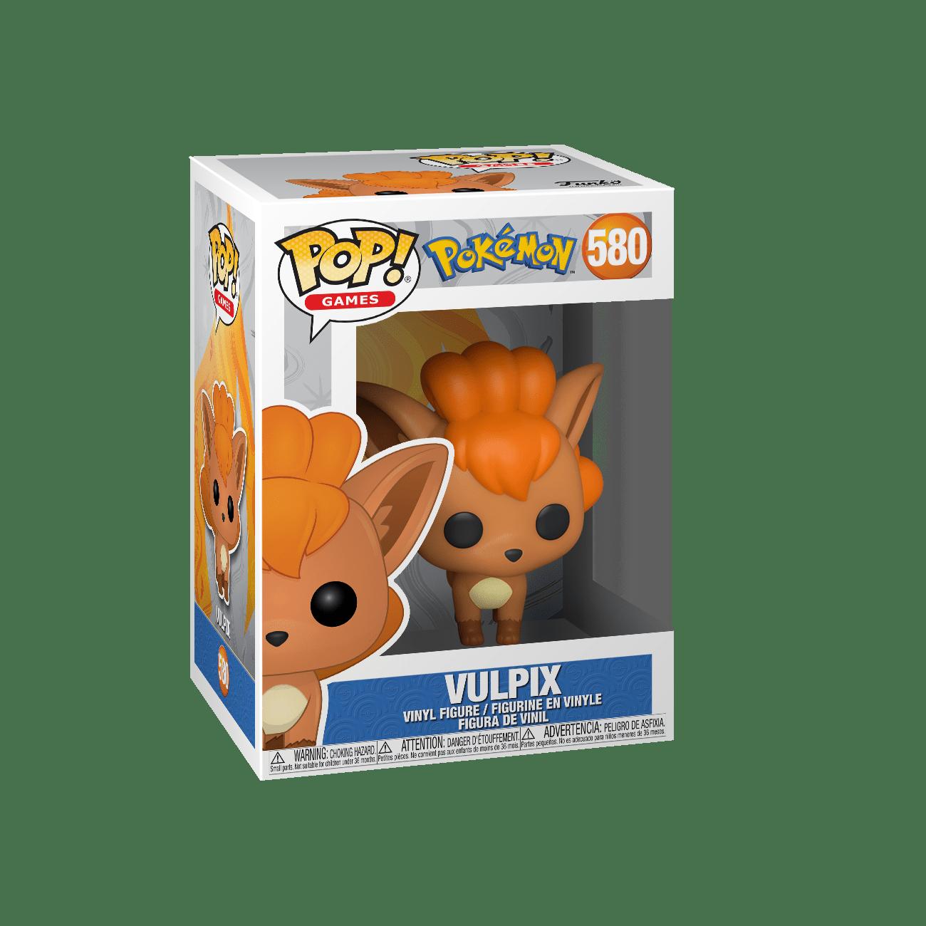 Funko Pop! Vulpix: Pokémon #580 - Funko