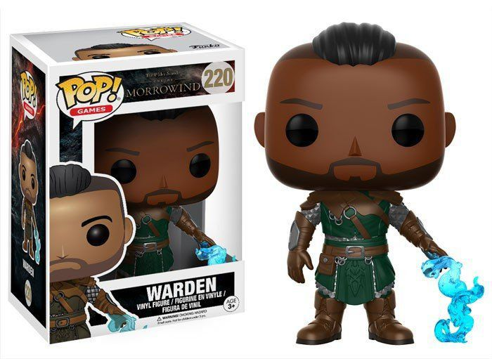 Funko Pop Warden: The Elder Scrolls Morrowind #220 - Funko