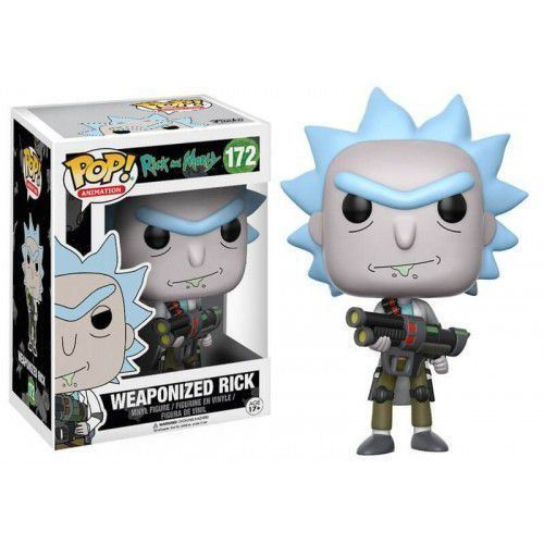 Funko Pop Weaponized Rick: Rick and Morty #172 - Funko