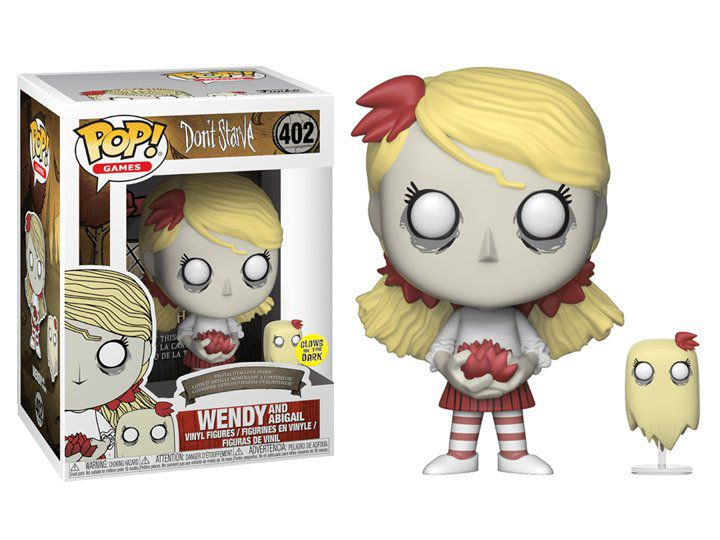 Funko Pop! Wendy (with Abigail) (GITD): Don't Starve #402 - Funko