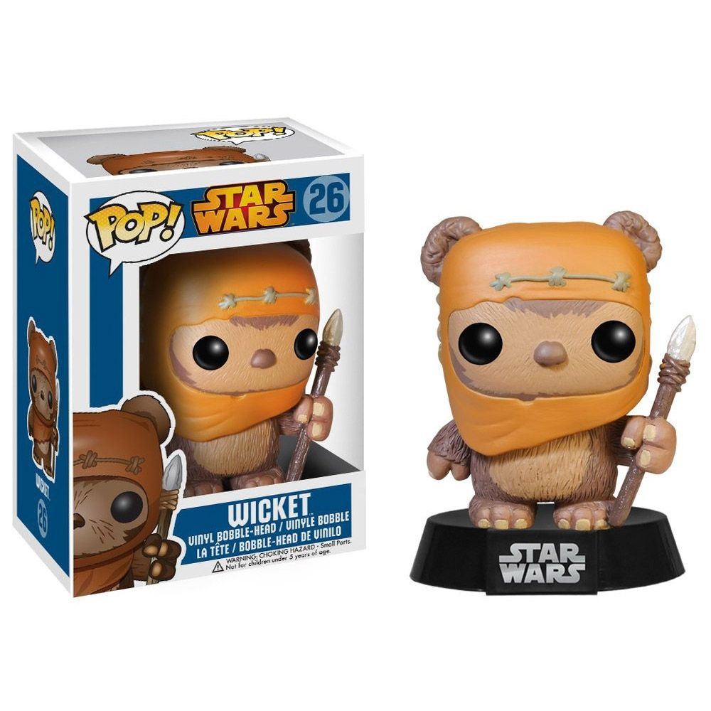 Funko Pop! Wicket: Star Wars #26 - Funko