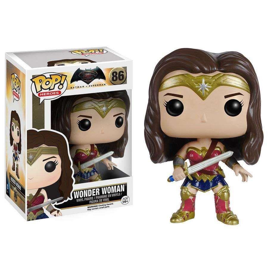 Funko Pop Mulher Maravilha (Wonder Woman): Batman vs Superman #86 - Funko