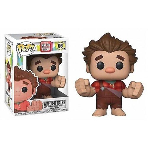 Funko Pop Wreck-It Ralph: Detona Ralph (Ralph Breaks the Internet ) #06 - Funko