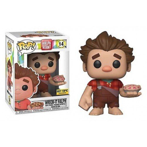 Pop Wreck-It Ralph (Pie): Detona Ralph (Ralph Breaks the Internet ) (Exclusivo) #14 - Funko