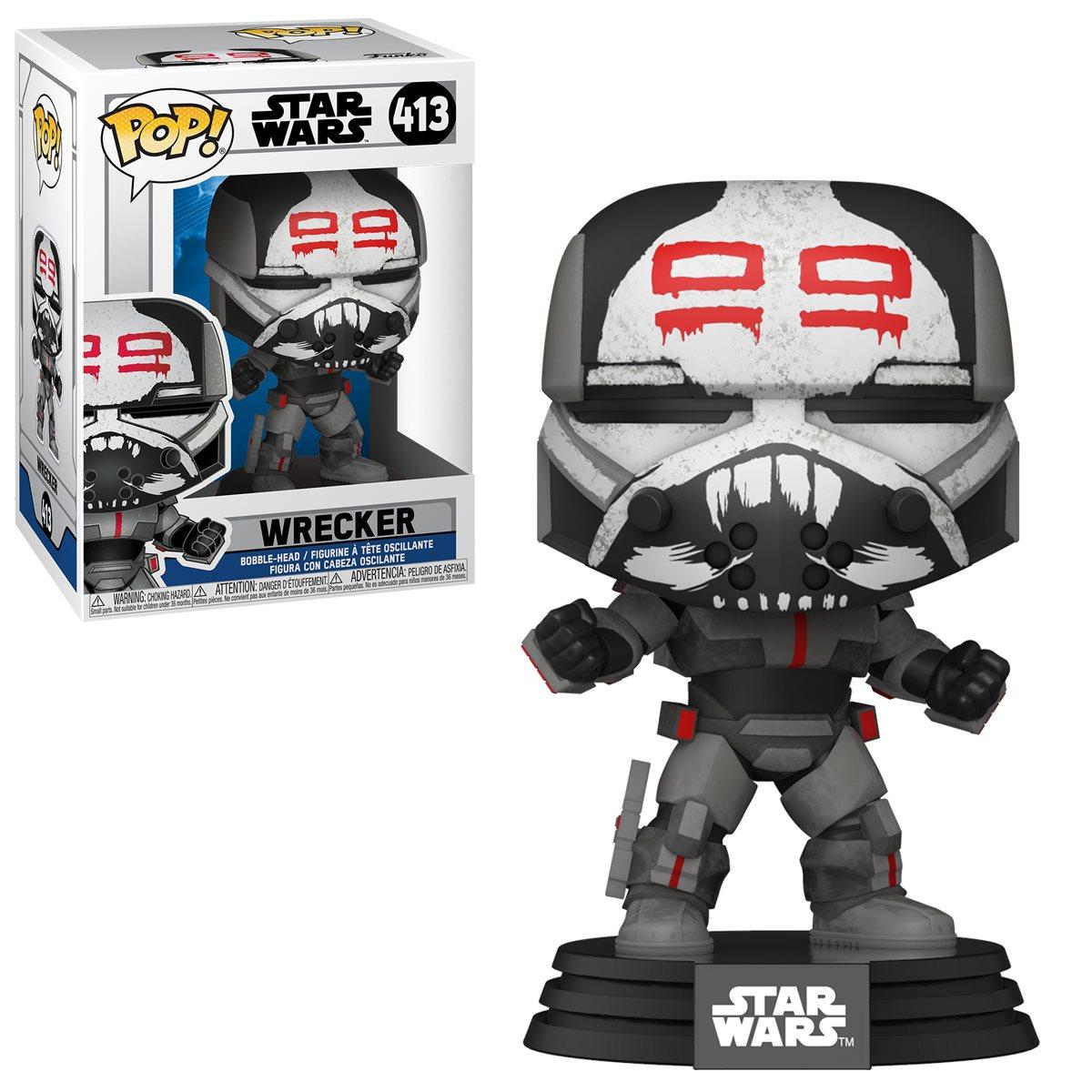 PRÉ VENDA: Funko Pop! Wrecker: Star Wars: The Clone Wars #413 - Funko