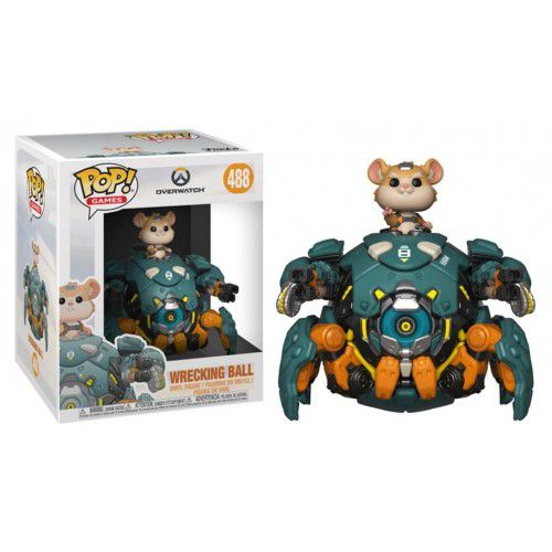 Funko Pop! Wrecking Ball: Overwatch #488 - Funko (Apenas Venda Online)