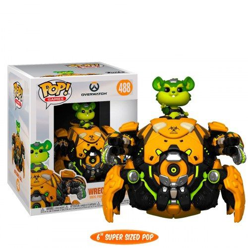 Funko Pop! Wrecking Ball: Overwatch (Exclusivo NYCC) #488 - Funko