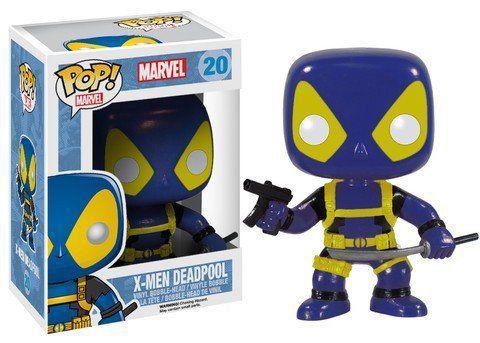 Funko Pop X-Men Deadpool Uniforme Azul: Marvel #20 - Funko