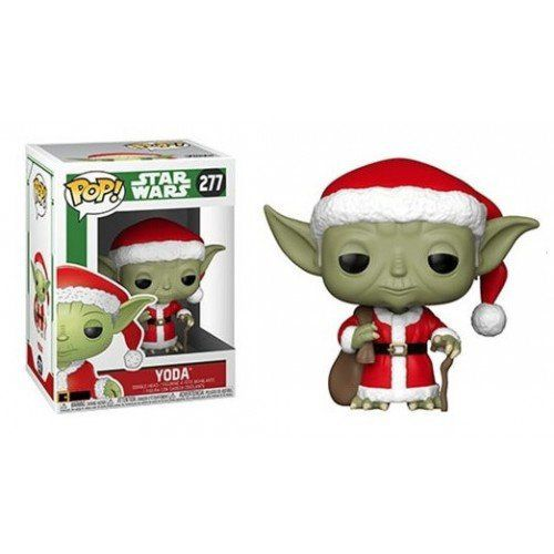 Funko Pop! Yoda (with Christmas Clothes): Star Wars Holiday #277 - Funko