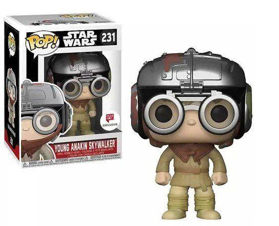 Pop! Young Anakin Skywalker: Star Wars (Exclusivo) #231 - Funko