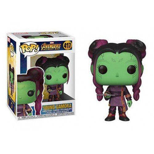 Funko Pop! Young Gamora: Vingadores Guerra Infinita (Avengers Infinity War) #417 - Funko