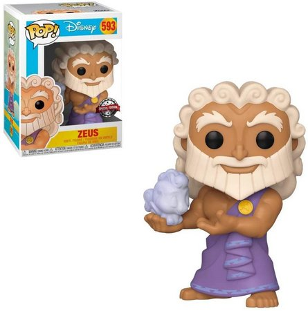 Funko Pop! Zeus: Hercules Disney (Edição Especial): #593 - Funko