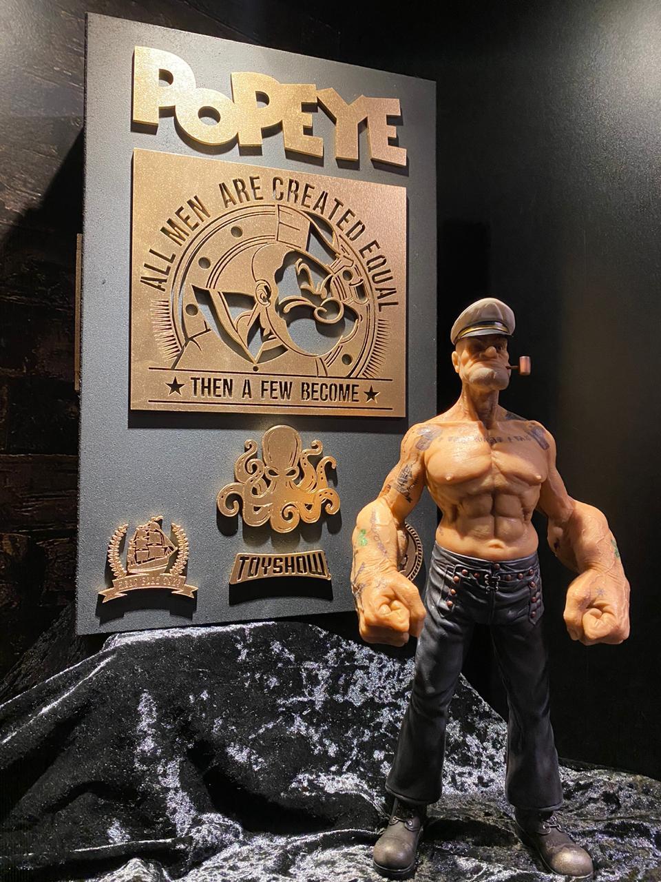 Estátua Popeye Saylor: Escala 1/6 Premium Edition - Fanatic Studios - EV