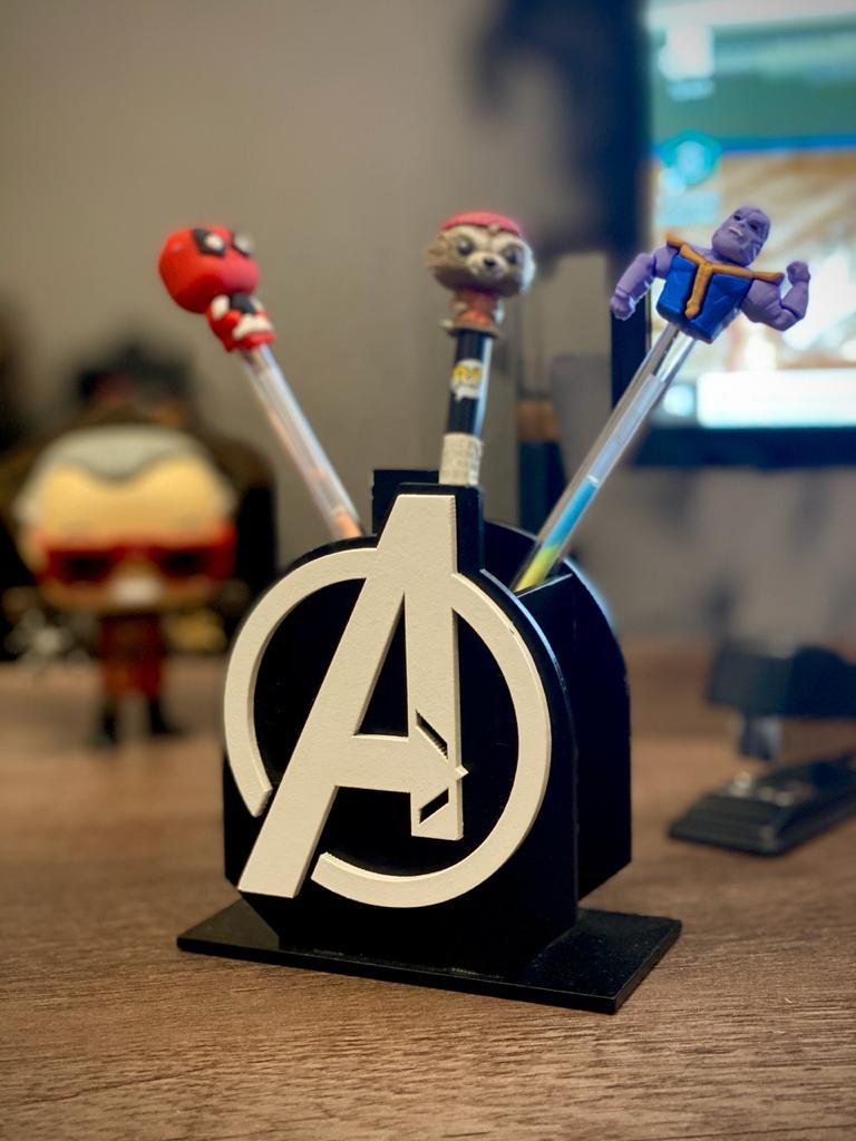 Porta Caneta: Os Vingadores (The Avengers)