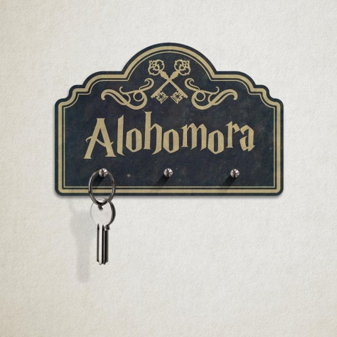 Porta Chave Alohomora (Bruxo)