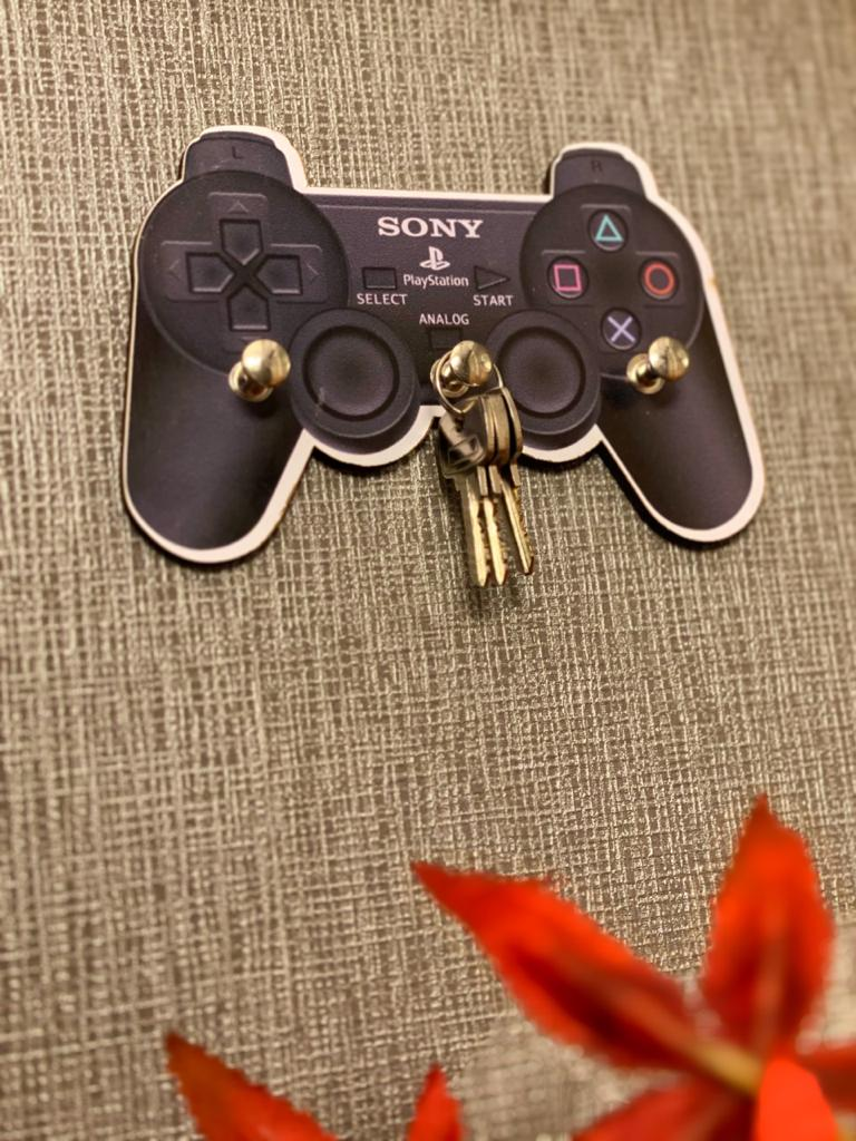 Porta Chave: Controle Playstation