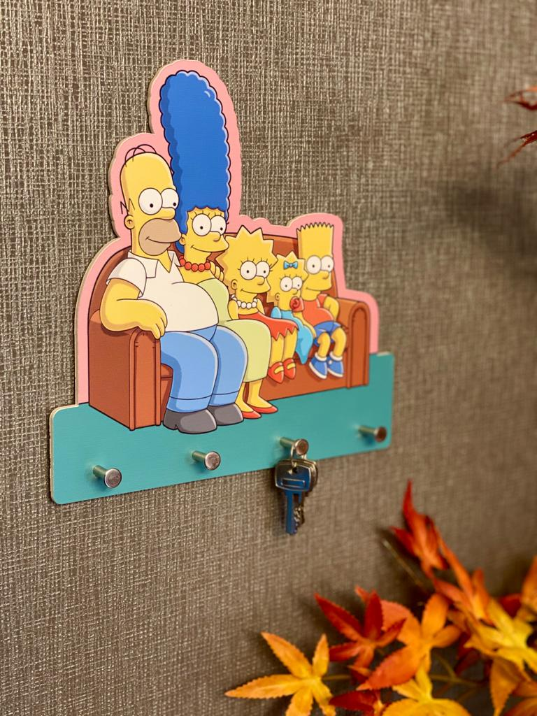 Porta Chave Família Simpsons: Os Simpsons