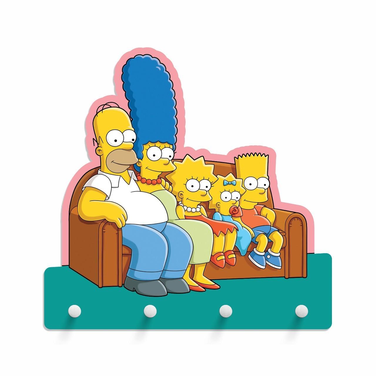 Porta Chave Família Simpsons: Os Simpsons