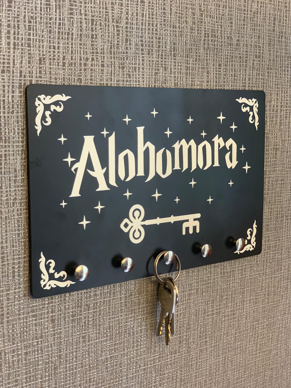 Porta Chave Harry Potter: Alohomora
