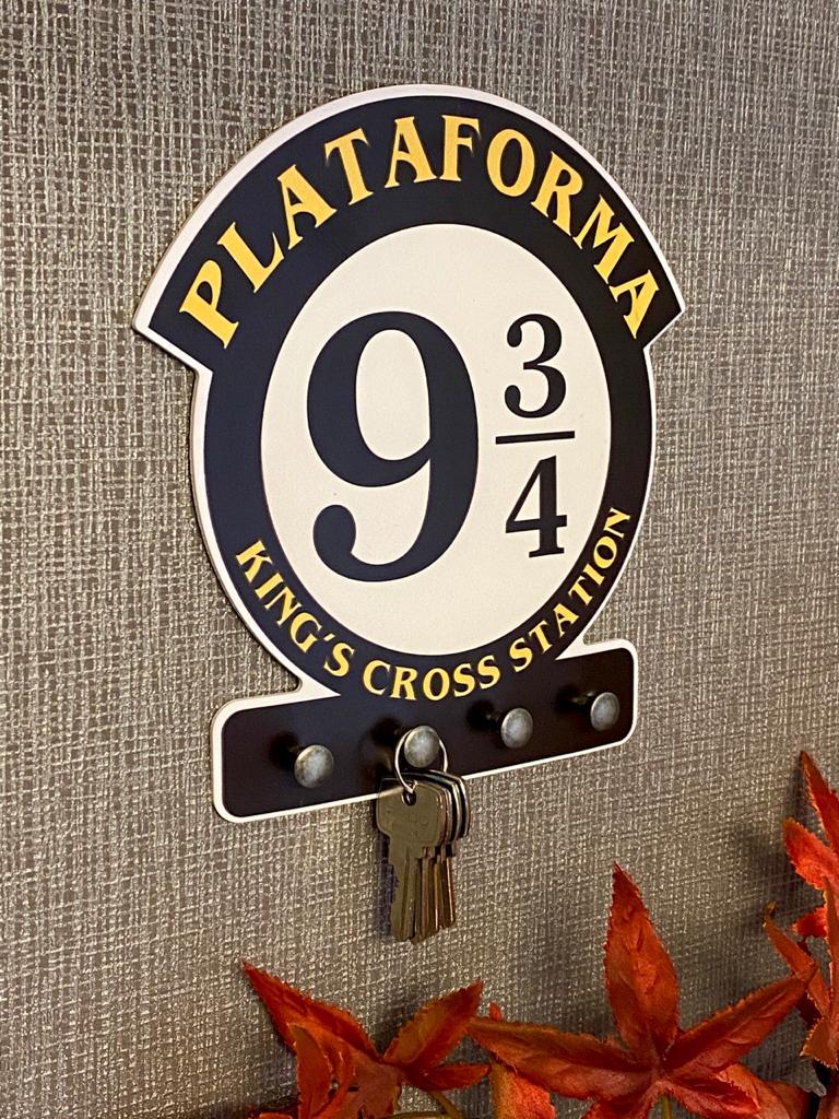 Porta Chave Harry Potter: Plataforma 9 3/4 King's cross station