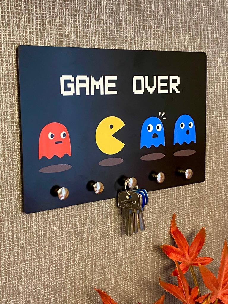 Porta Chave Pac Man: Game Over