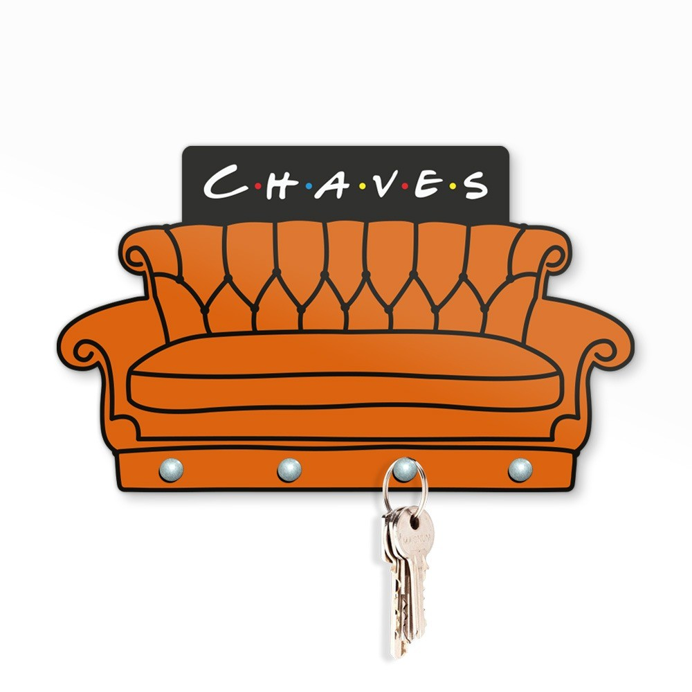 Porta Chave Sofa - Friends - EV