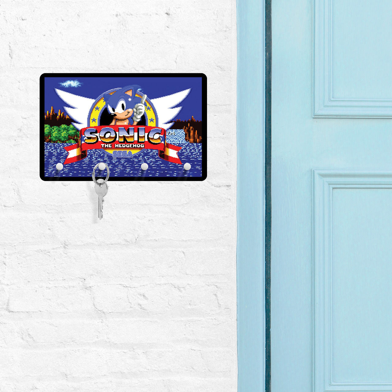 Porta Chave: Sonic The Hedgehog - Sega