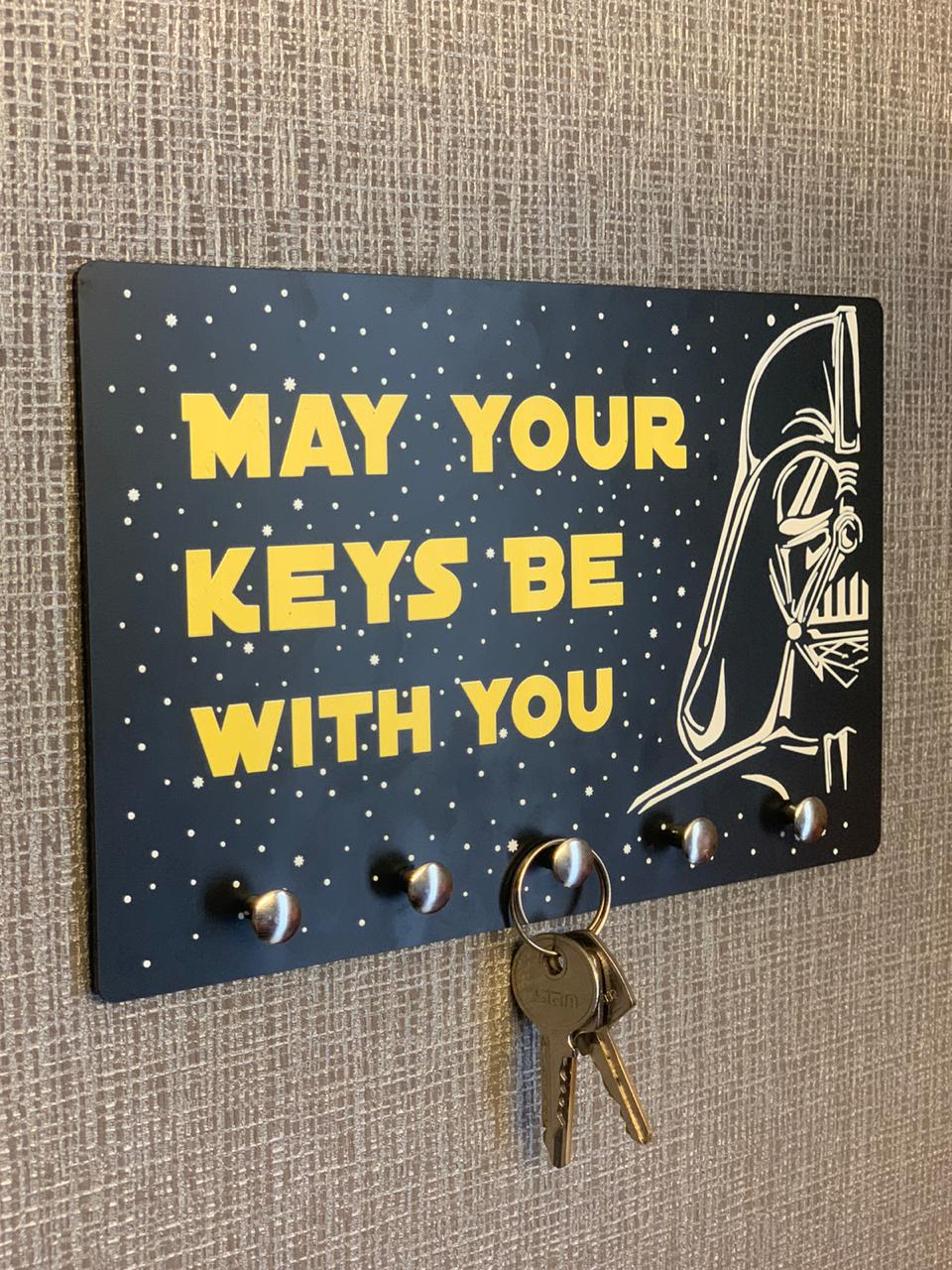 Porta Chave Star Wars: May your keys be with you
