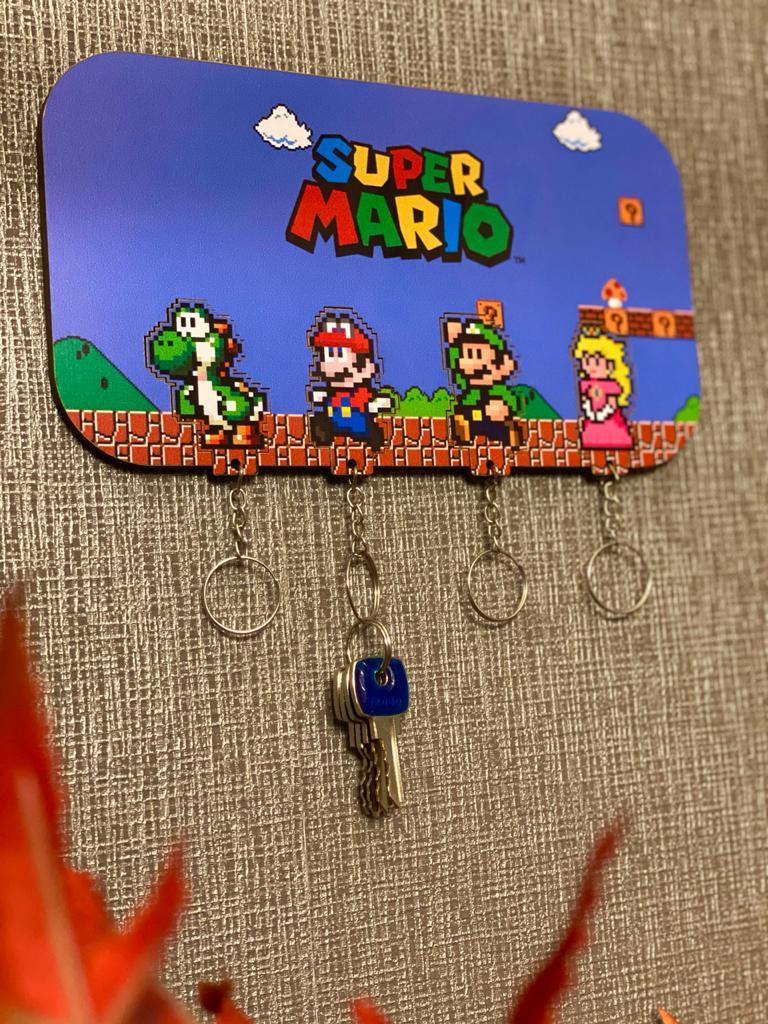 Porta Chave: Super Mario