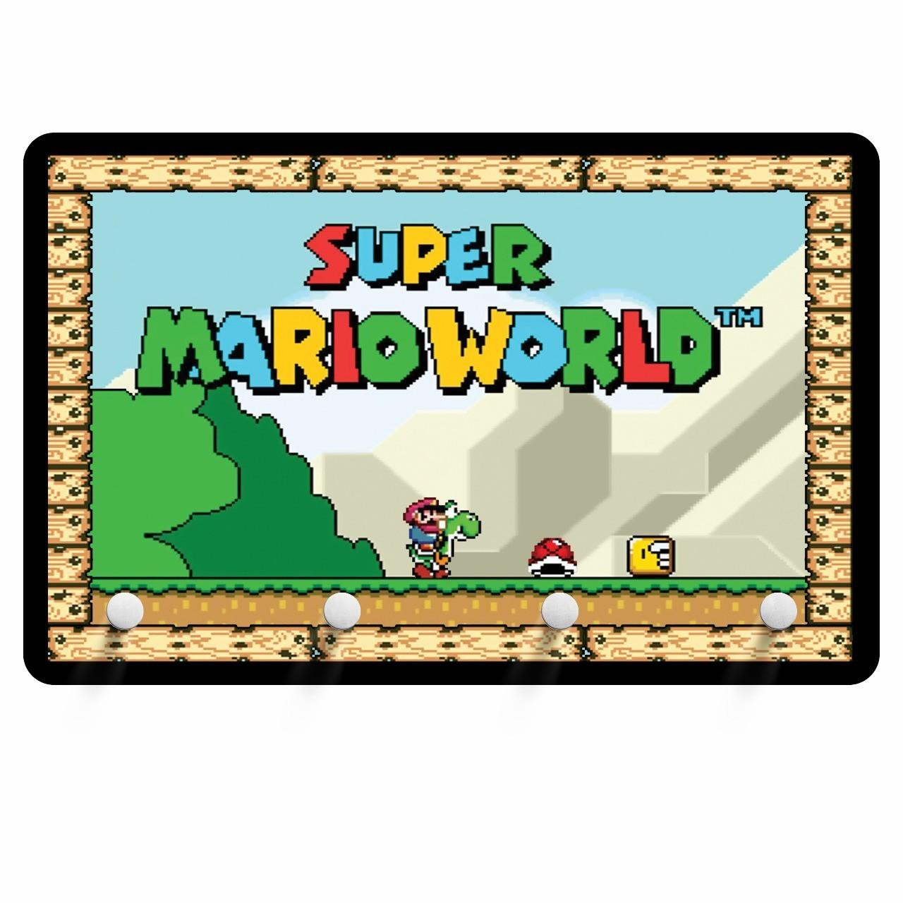 Porta Chave: Super Mario Wolrd